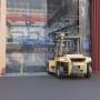 PVC Strip Curtains: Industrial Doorways