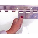 Replacement Freezer Grade, Clear PVC Strip Curtains