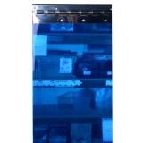 Blue Translucent Replacement PVC Strips