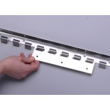 Stainless Steel Suspension Rails - PVC Strip Curtains