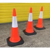 Rayflex Hi viz traffic cones