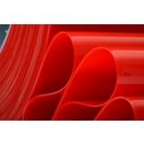 RED PVC STRIP CURTAIN / PVC ROLL