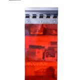 Red Translucent PVC Strip