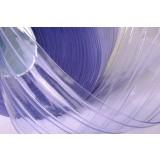RIBBED PVC STRIP CURTAIN / PVC ROLLS STANDARD