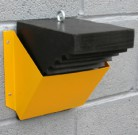 Steel Wheel Chock Holder For Storage | Rayflex Group