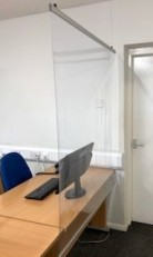 PVC Film - Hanging Sneeze Screens