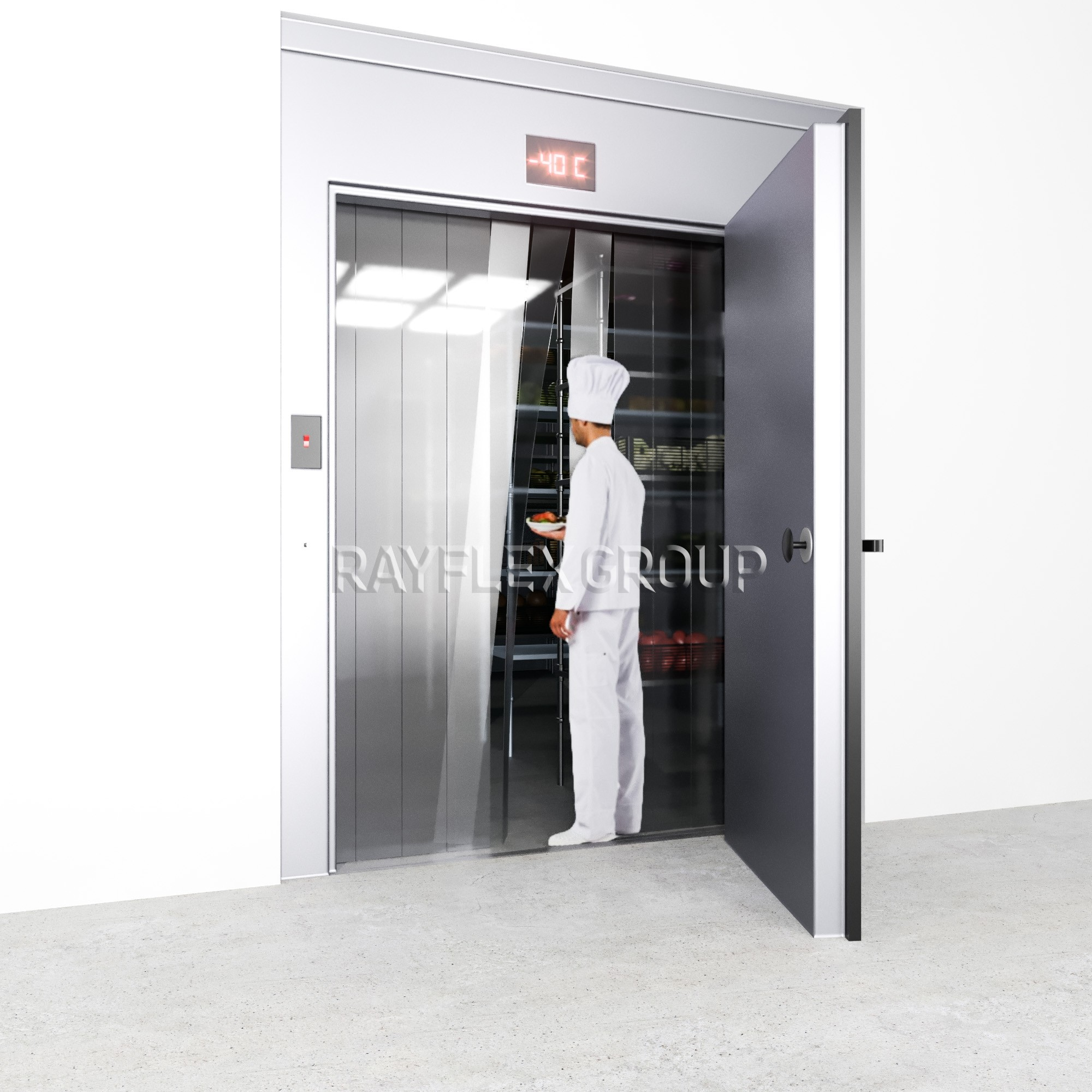 Strip Curtain Kits For Walk In Cooler Freezers Rayflex Group
