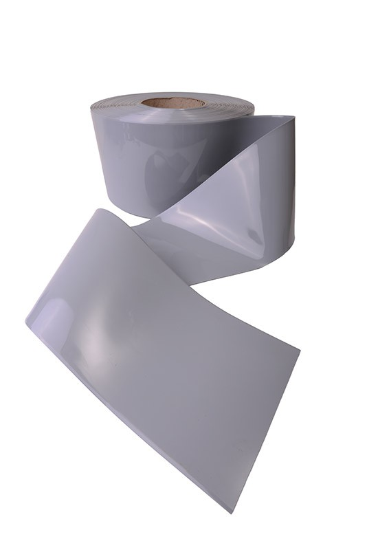High Quality Grey Pvc Strip Available In Bespoke Sizes
