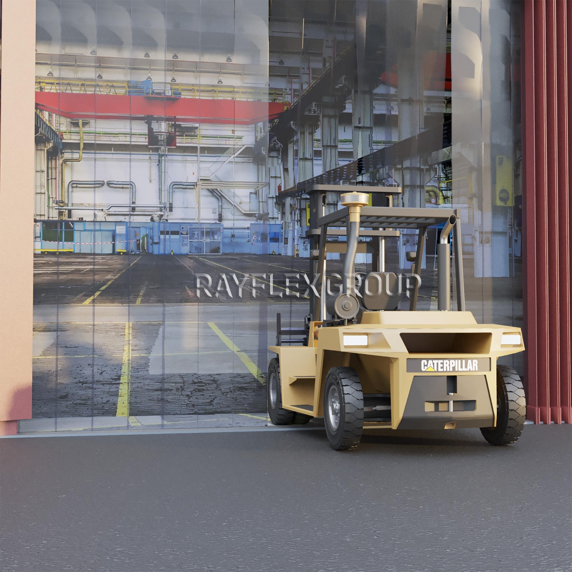 Heavy Duty Industrial Curtain Kits Hook Type Rayflex Group